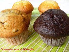 Muffins. #ricetta di @ilpomodororosso Muffins, Breakfast, Food, Morning Coffee, Muffin, Essen, Meals, Yemek, Eten