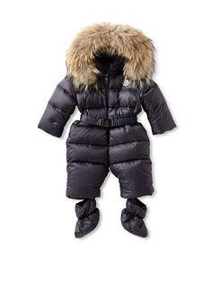 Moncler Kid's Snowsuit with Fur Trim at MYHABIT