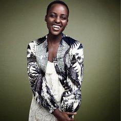 The beautiful @lupitanyongo. Stunning.