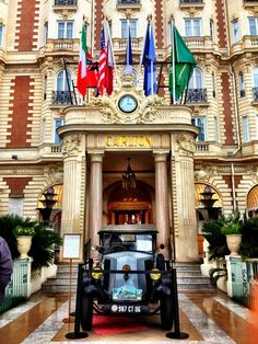 Hotel Carlton = Opulence - Cannes  Find Super Cheap International Flights to France ✈✈✈ https://thedecisionmoment.com/cheap-flights-to-europe-france/
