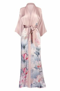 Lingerie of the Week: Kim and Ono Blush Rose Satin Robe