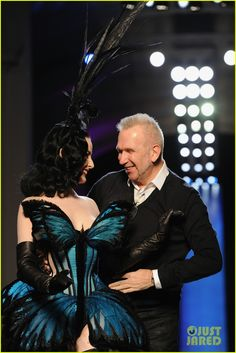 Dita Von Teese Hits the Runway for Jean Paul Gaultier Show! | dita von teese hits runway for john paul gaultier show 02 - Photo