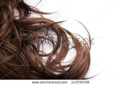 Brown hair - stock photo
