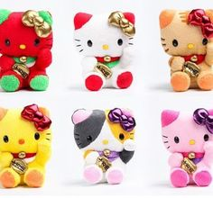♥ Sanrio Authentic Hello Kitty Lucky Cat Mascot Plushes Choose Your Color | eBay dear lord and heaven