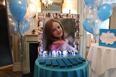 Photo Collage Seating Card Display - BAT MITZVAHS