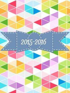 free printable 2015-2016 Teacher Planner