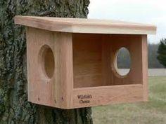 "Size: 12"" w x 9"" d x 8.75"" h Inside Dimensions: 8"" w x 6"" d x 7"" h Weight: 4 lbs Placement: Backyards, gardens, woodlands"