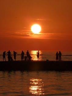 Sunset in Zadar....one of the most Dynamic Towns of the Adriatic coast.