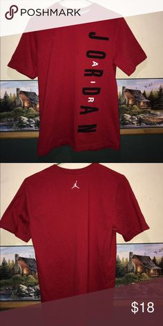 99a88f9cd78 Jordan T-shirt Very clean no stains and no cracking in the letters Jordan  Shirts Tees - Short Sleeve