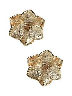 The Mad Men Collection flower stud earring, Banana Republic