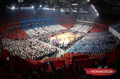 Kk Crvena Zvezda Belgrade vs Olympiacos (Gr) Kombank Arena. Euroleague 2014 Brothers game. Red Star Belgrade, Football Fans, City Photo, Greece, Basketball, Games, Sports, Youtube, Football Soccer