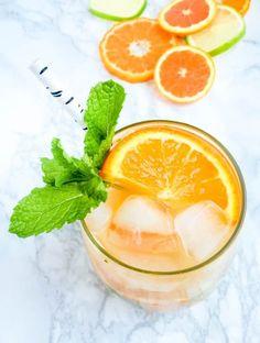 Orange Blossom Citrus Mojitos - The Lemon Bowl
