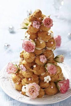 Creme puff cake