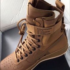 Nike Shoes | Nike | Color: Cream/Tan | Size: Various Amazon Dresses, Kohls Dresses, Dresses Dresses, Casual Dresses, Summer Dresses, Air Force One Shoes, Nike Air Force Boots, Air Force Sneakers, Air Force 1 High