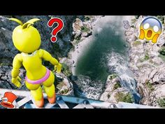 GUESS IF TOY CHICA WILL JUMP OFF THE TALLEST BRIDGE! (GTA 5 Mods For Kids FNAF RedHatter) - YouTube