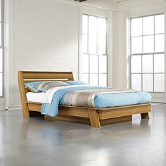 Queen Platform Bed from our Soft Modern Collection.