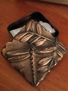 Bronze trinket box from Trexlertown. $1