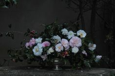 Love love love this still life look with climbing camellias from Jardine Botanic. It could also look beautiful with rambling roses. 'Antique' is the new rustic for our wedding and still life is divine!  IMG-0824.JPG