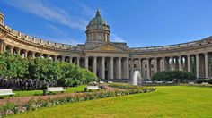 Фото: Petersburg. The colonnade of the Kazan Cathedral. #Russia #Petersburg…