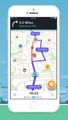 Waze provides real-time crowd-sourced driving and road conditions for your location, and voice-guided directions and detour info help you find the fastest and safest route to your destination. By driving with the app open, you contribute speed and time info to help others. This free app also helps you to find the best gas prices in your area.