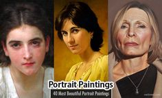 40 Most Beautiful Portrait Painting works from around the world Painting Words, Drip Painting, Encaustic Painting, Acrylic Portrait Painting, Oil Portrait, Portrait Paintings, Celebrity Drawings, Celebrity Portraits, Different Types Of Painting