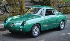 """1959 Fiat Abarth Zagato """"Double Bubble"""""""