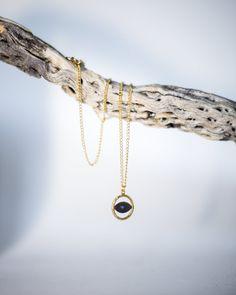 One black toned (oxidized) Greek eye pendantWith gold plated Edge. Selling Online, Hand Sewing, Greek, Eyes, Pendant, Bracelets, Gold, Jewelry, Fashion