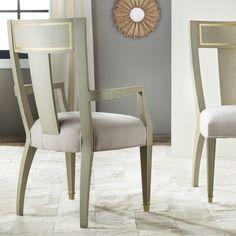 Modern History Home Gustavian Arm Chair @Layla Grayce