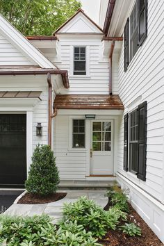dormer with copper roof accents - Google Search