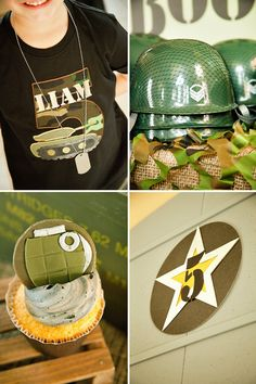 Amazing Patriotic Army Party (Liams Boot Camp)