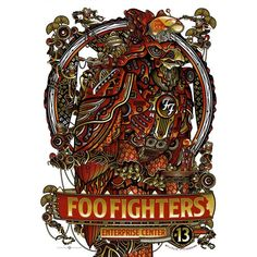 d153d31c78fa1 Foo Fighters Foo Fighters Poster, Concert Posters, Music Posters, Art  Posters, Dave