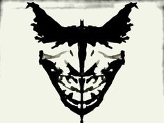 Take The Ink Blot Test (Rorschach Test) To Find Out Who You Are!     Well, I see Batman!