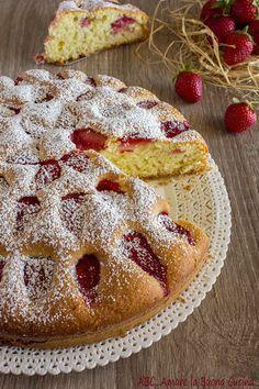 torta soffice alle fragole 2