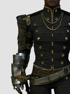 steampunk/ uniform/ some good ideas/ men
