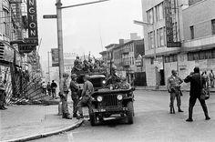 Newark N.J. 1970s: 1967 Newark's race riots