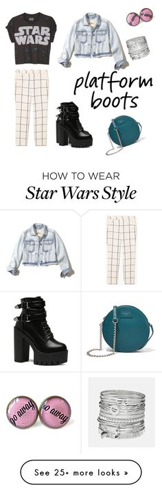 """""""Untitled #74"""" by gmethod on Polyvore featuring MANGO, Hollister Co., Avenue and Dolce&Gabbana"""