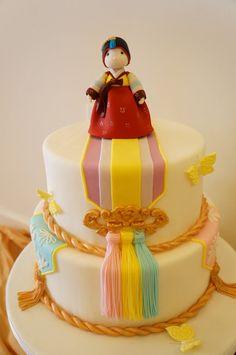 Traditional Theme Girl Cake