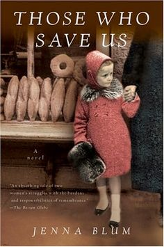 Loved this book about a german woman during the Holocaust.  I couldn't put it down...although it was fiction, it very well could have been true.
