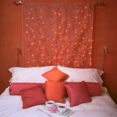 Romantik Zum Valentinstag Herz Deko Idee Rote Bettdecke