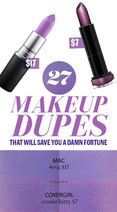 27 Makeup Dupes That Will Save You A Damn Fortune