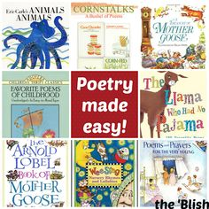 Poetry made easy {11/2013} How I share poetry with my young children!