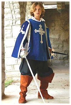 Musketeer Tabard for Children - NEW!: Renaissance Costumes, Medieval Clothing, Madrigal Costume: The Tudor Shoppe