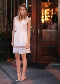 Dree Hemingway at the Chloe dinner celebrating its SoHo boutique.