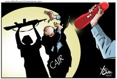 "CAIR rep: ""we need to Islamicize America"" - via CAIR Rep: Violence Shows It's America That Needs to Change : The Investigative Project on Terrorism.  In a program entitled ""The Muslim American Identity,"" [Cyrus] McGoldrick said America can be more peaceful and decent if it is more Islamic.   ""We should not reinforce this distinction or between Islam and the West, as if they're mutually exclusive. We need to make sure that – oh, the camera's gonna love this one – we need to Islamicize…"