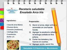 Saludable 3.0 Nutrición & Movimiento: RECETAS SALUDABLES