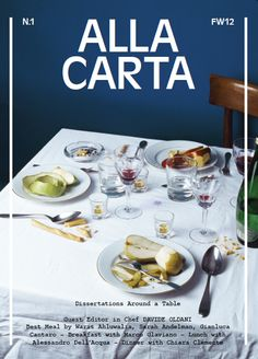 Didn't know about this mag, must check it out// Alla Carta, Autumn/Winter 2012, #1 on Magpile