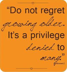 Growing Older...