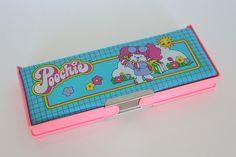 Vintage pencil case Poochie Mattel by lucychan80, via Flickr