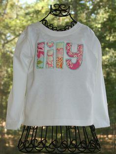 tinytulip.com - Applique Name Tee Shirt, $34.50 (http://www.tinytulip.com/applique-name-tee-shirt)