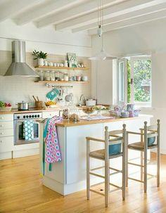 Guauuuu mi cocina !!!! Belleza total, no me saca nadie d ahí !!